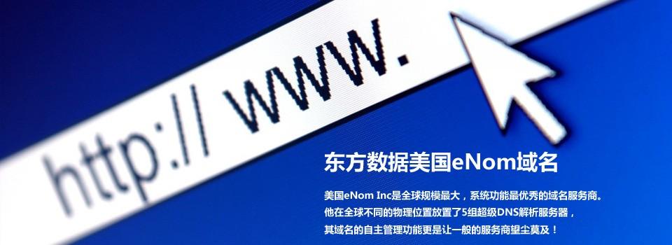东方数据美国eNom域名